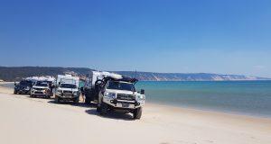 Sunseeker Caravans on Double Island.