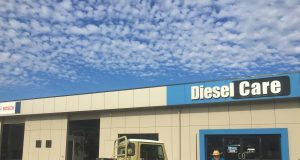 Roger Vickery at Diesel Care Toowoomba.